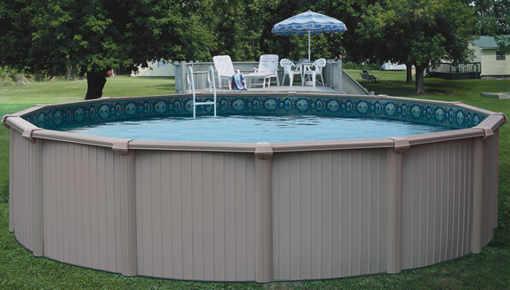 Bermuda above ground pool kits for Above ground swimming pool kits