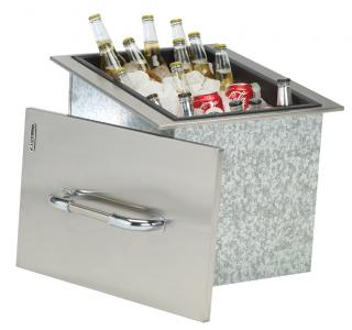 Bull Ice Chest with Cover and Drain