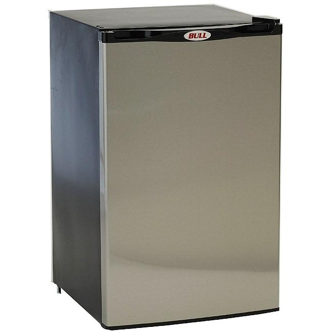 Bull 4.5 Cu. Ft. Stainless Steel Compact Refrigerator