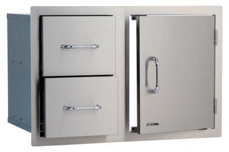 Bull BBQ Door/Drawer Combo