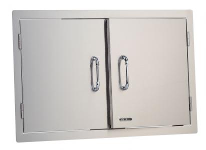 Bull BBQ Access Door with Lock and Frame