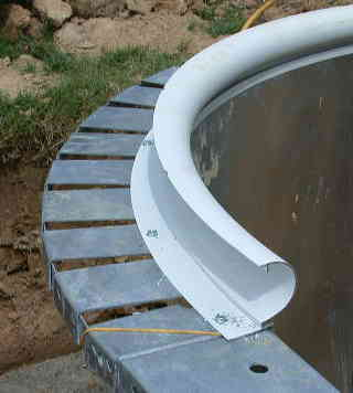 Swimming pool coping for In ground pool coping ideas