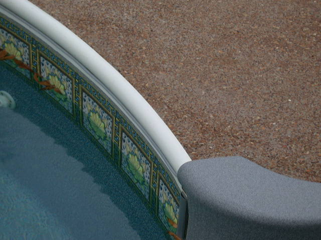 Swimming pool coping for Inground pool coping paint