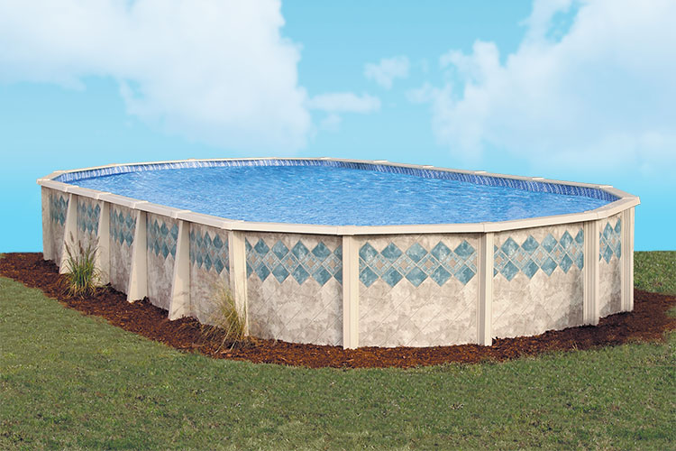 Doughboy copper canyon swimming pools kits for Doughboy above ground swimming pools