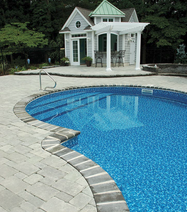 Do it yourself inground swimming pool kits for Images of inground swimming pools