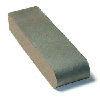 Dark Iron Spot Coping Brick