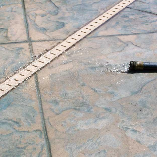 Stegmeier deck drains for Patio drainage