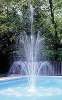 Inground and Above Ground Swimming Pool Fountains