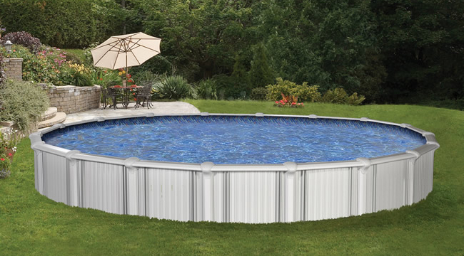 Oasis semi above ground pools joy studio design gallery best design for Above ground swimming pool kits