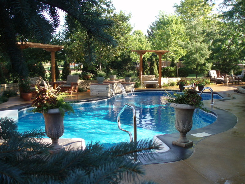 Oasis hydra inground swimming pool kit for Swimming pool oasis