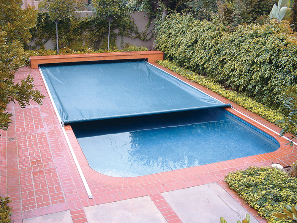 On Deck Track Automatic Swimming Pool Covers