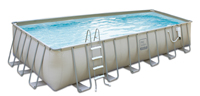 Rectangle Soft Side above ground pool