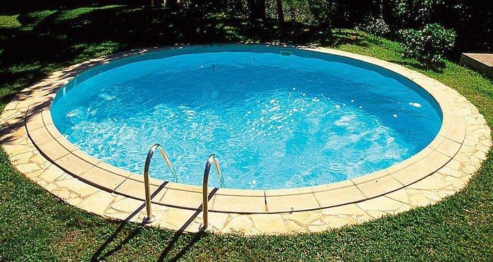 Round inground swimming pool kits for Swimmingpool stahlwandbecken rund