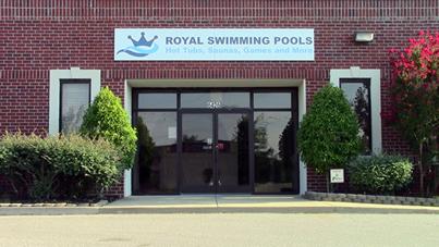 Company contact information royal swimming pools for Royal swimming pools memphis tn