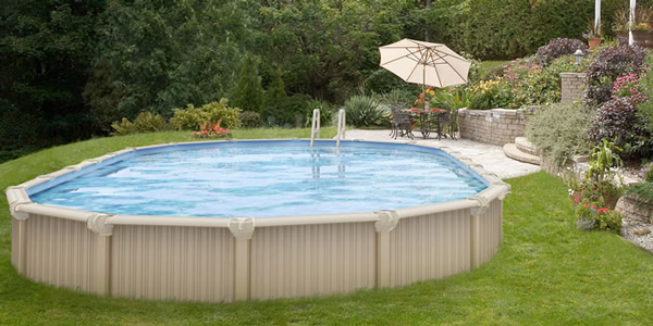 Semi inground pools royal swimming pools semi inground pools are becoming very popular many people might have a high water table rock a hillside or any number of uncontrollable factors which solutioingenieria Choice Image