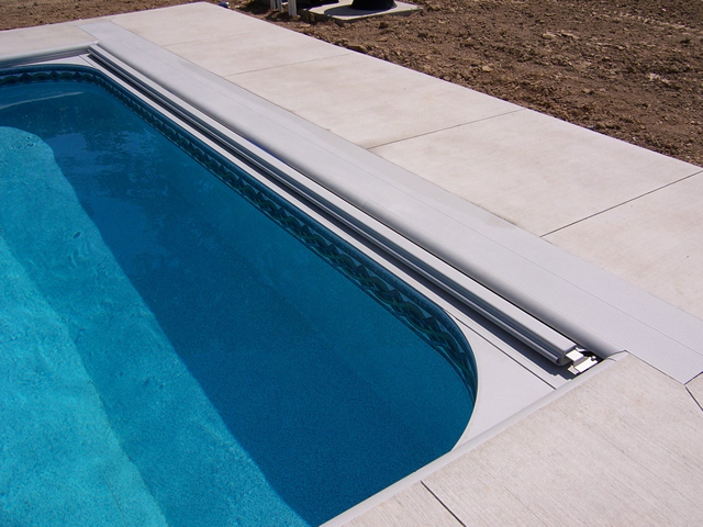 Under-Coping Track Automatic Pool Covers