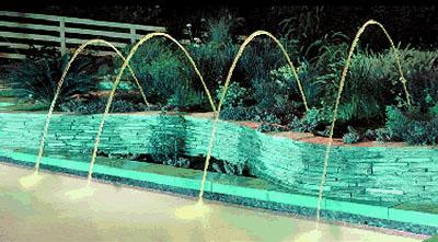 Inground Swimming Pool Deck Jets
