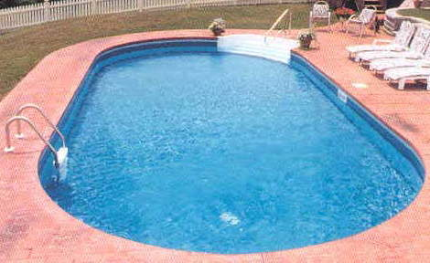 14 X 28 Oval Inground Swimming Pool Kit With 42 Quot Steel